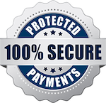 100% Secure Protected Payments